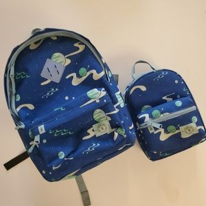 Parkland backpack and lunchbox combo